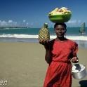 Fliegende Händlerin - Playa Grande - Dominikanische Republik - 1991 - © Auriga/LOOK22